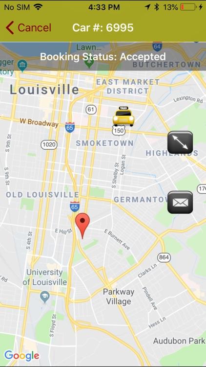 Yellow Cab - Louisville screenshot-3
