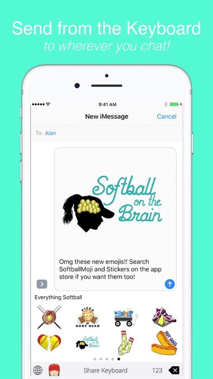 SoftballMoji and Stickers