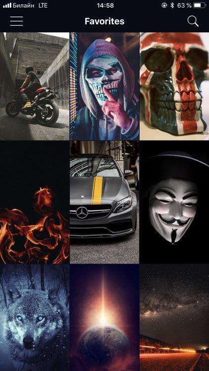 Wallpapers for iPhone HD & 4K screenshot-3