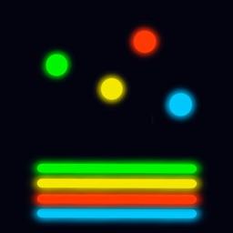 Neon Balls Bounce