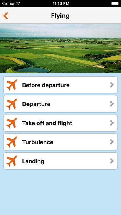 Fear of Flying App