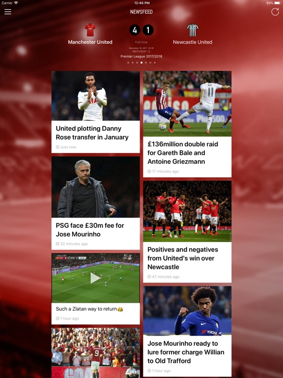 Manchester Live: Goals & News-ipad-0