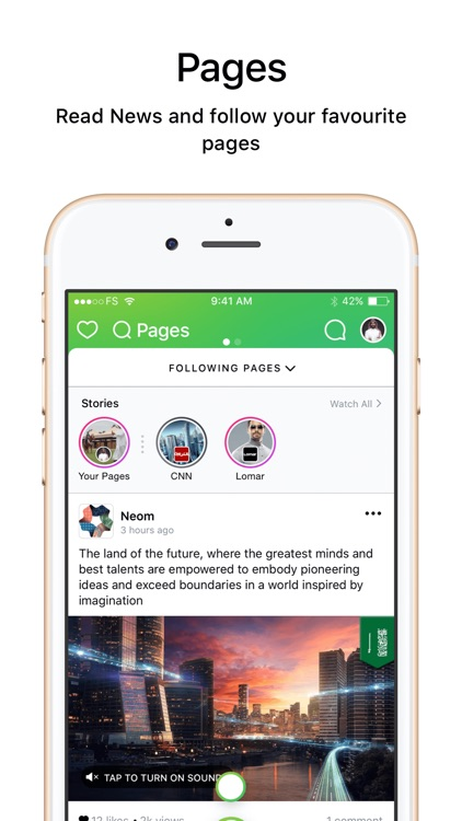 Salam - Chat, Discover Stories screenshot-3