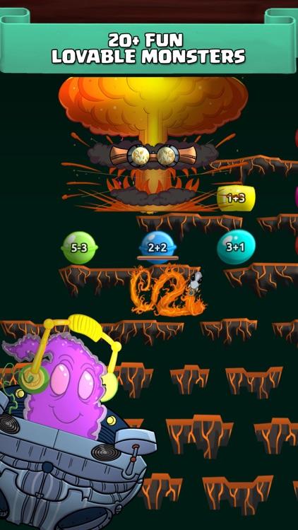Monster Math Facts Kids Games screenshot-3