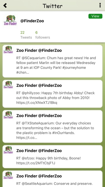 Zoo Finder screenshot-2
