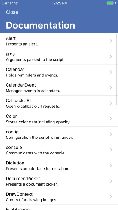 Image of Scriptable for iPhone