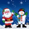 Christmas photo by Santa Claus