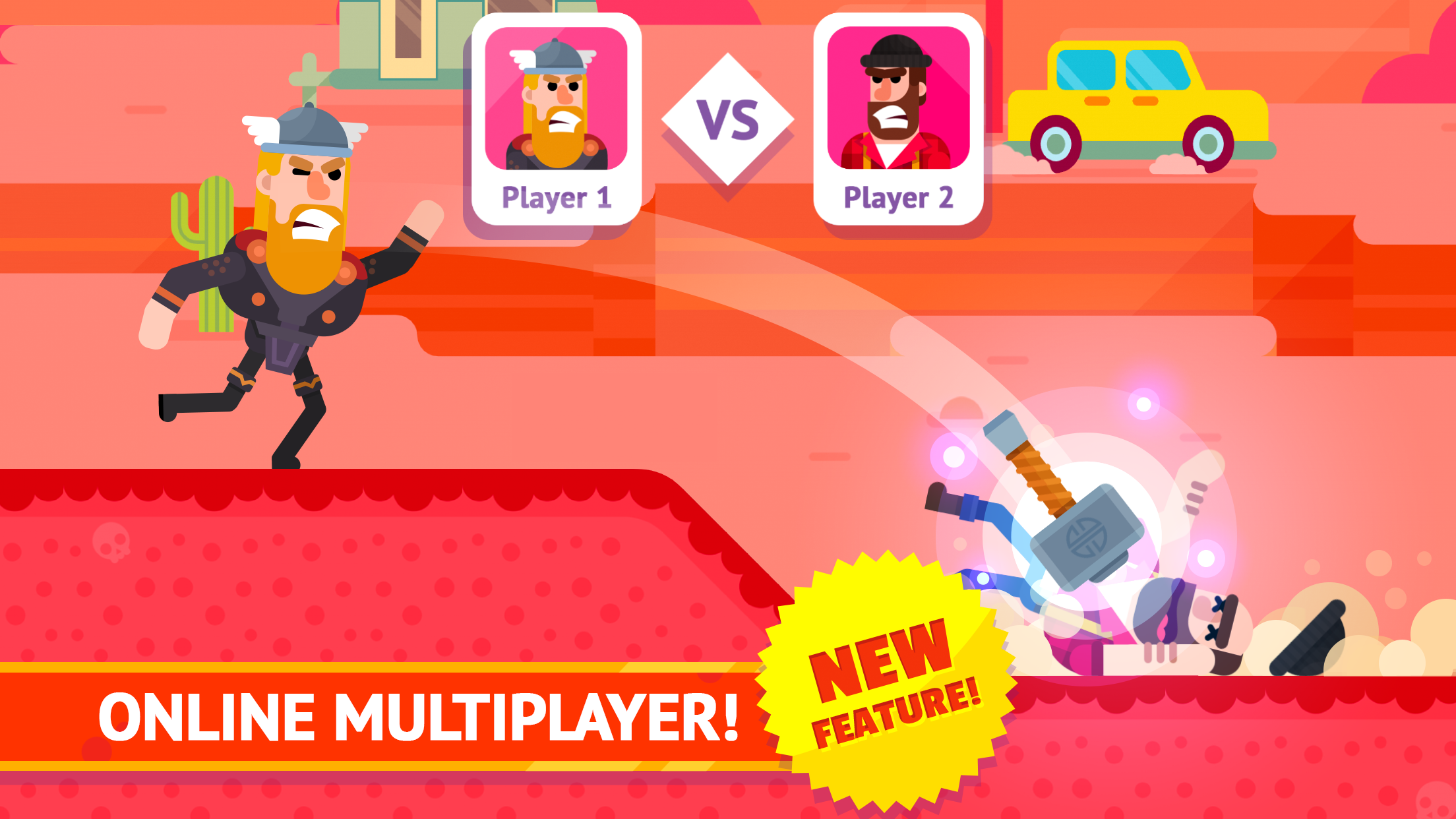Bowmasters - Multiplayer Game Screenshot