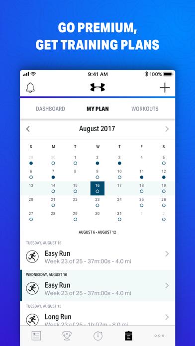 Map My Fitness+ Screenshots