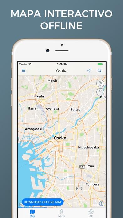 Osaka - Mapas de la ciudadCaptura de pantalla de1
