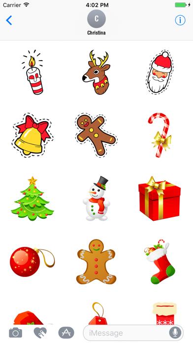 Animated Christmas Stickers Pack screenshot three