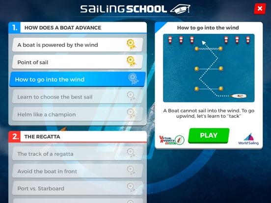 Virtual Regatta Sailing School для iPad