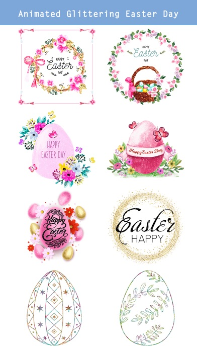 Glittering & Gold Easter Day screenshot 2