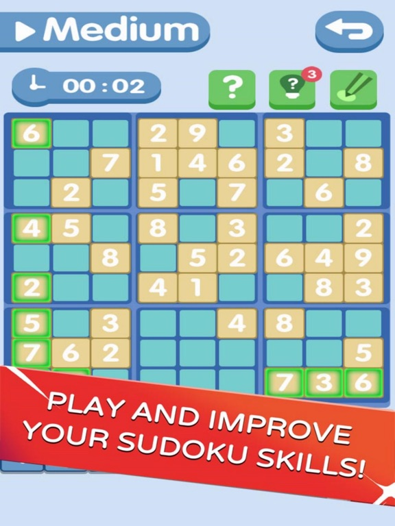 Sudoku!Level Brain screenshot 6