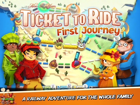 Ticket to Ride: First Journey на iPad