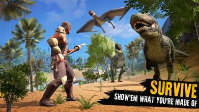 Jurassic Survival Island Screenshot on iOS