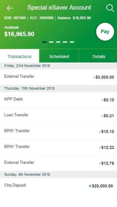 MyState Bank screenshot two