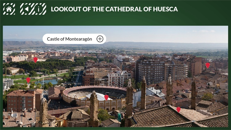Lookout Cathedral of Huesca
