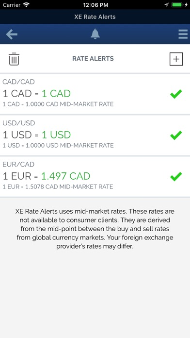 XE Currency Pro Screenshots