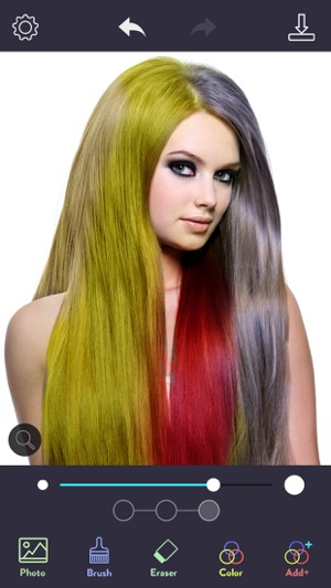 Hair Color Dye - Hairstyle DIY on the App Store