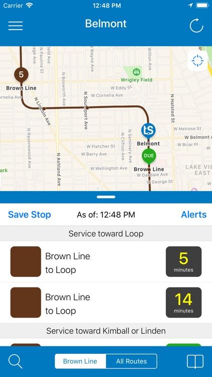 Transit Stop: CTA Tracker. screenshot-0
