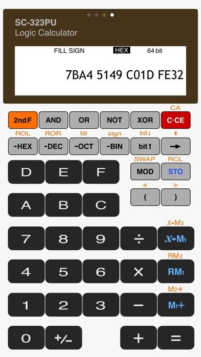 Scientific Calculator SC-323PU Скриншоты7