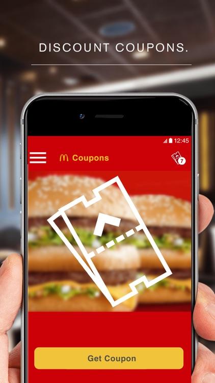 McDonald's App - Caribe screenshot-4
