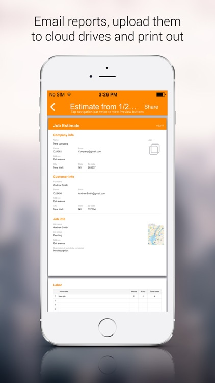 Job Estimator App screenshot-4