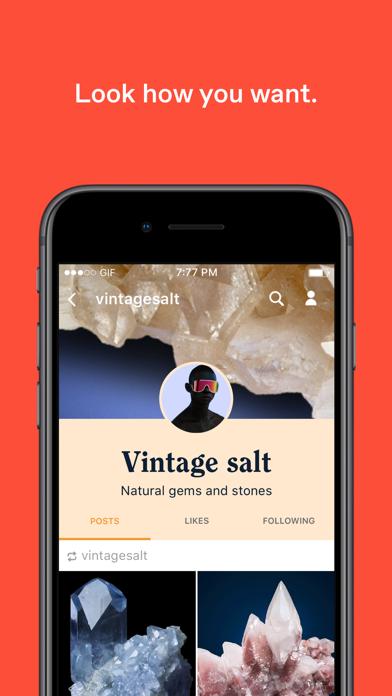 Screenshot 3 for Tumblr's iPhone app'