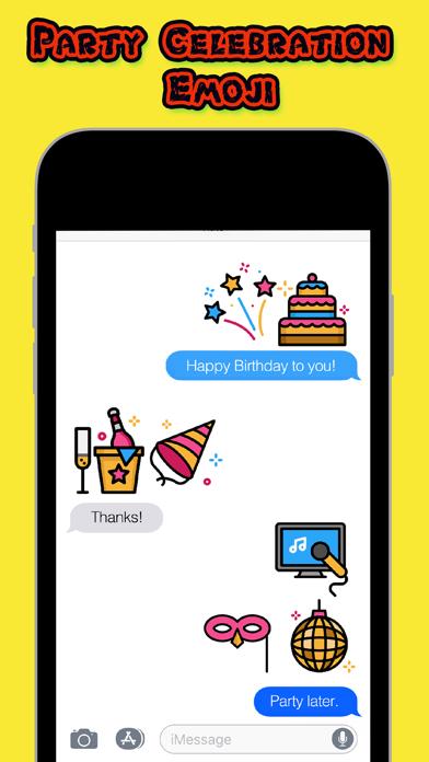 Party Celebration Emoji screenshot one