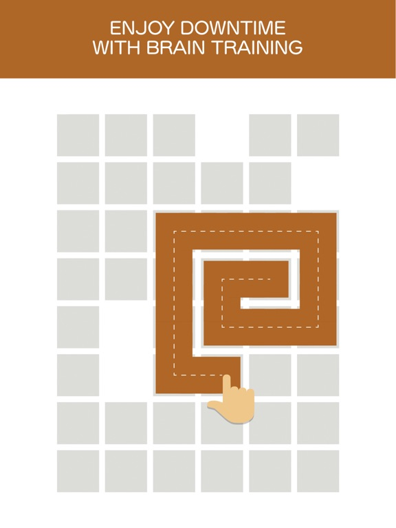 Fill one-line puzzle game для iPad