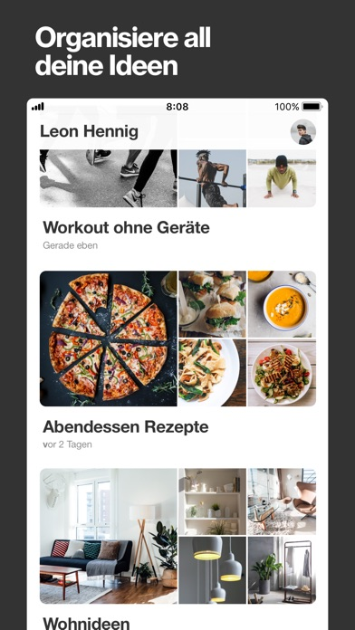 Screenshot for Pinterest in Austria App Store