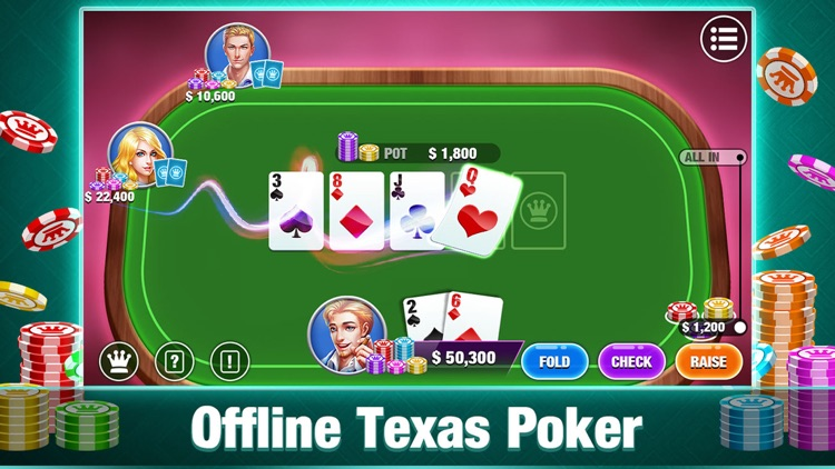 HD Texas Holdem Offline Poker