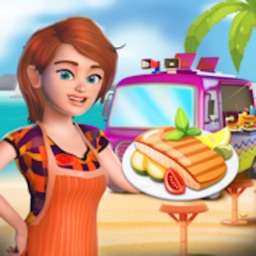 Beach Food Truck -Cooking Game
