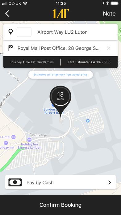 1st Airport Taxis screenshot 1