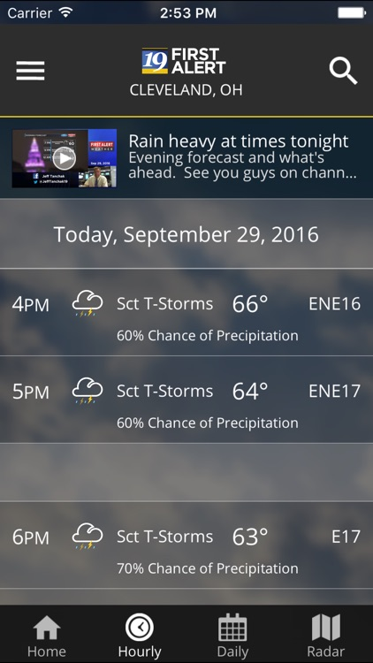 Cleveland19 FirstAlert Weather screenshot-4