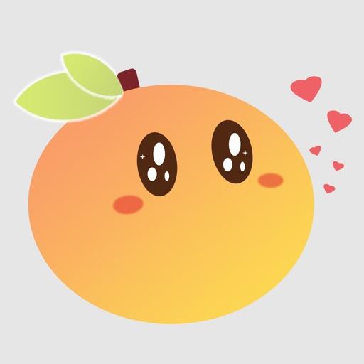 橙子直播app icon图