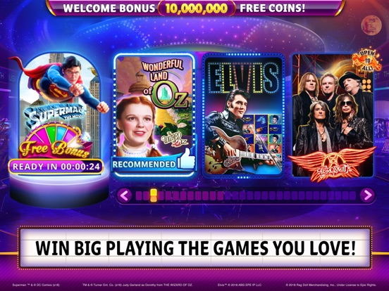 Hit it Rich! Casino Slots iPad