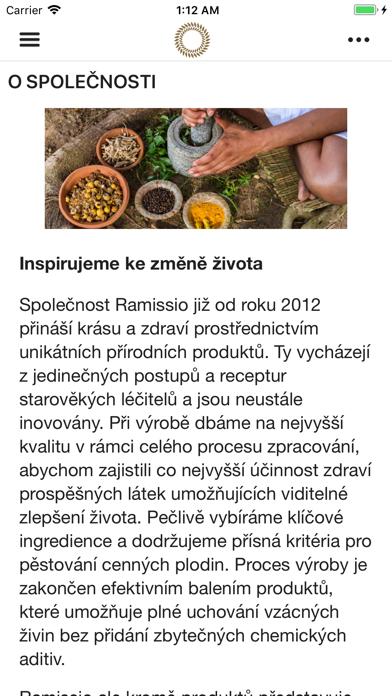 Ramissio screenshot 1