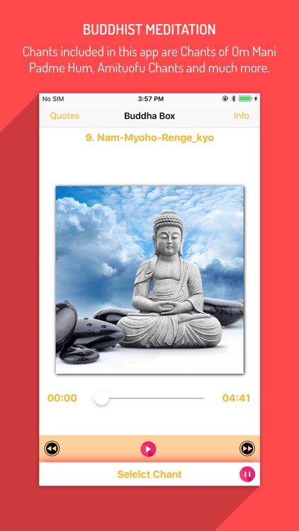 Buddha Box & Buddhist Chants screenshot-3