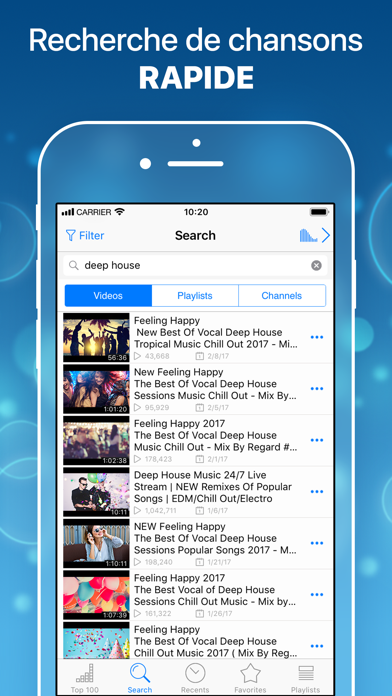 download Musique player pour YouTube. apps 3