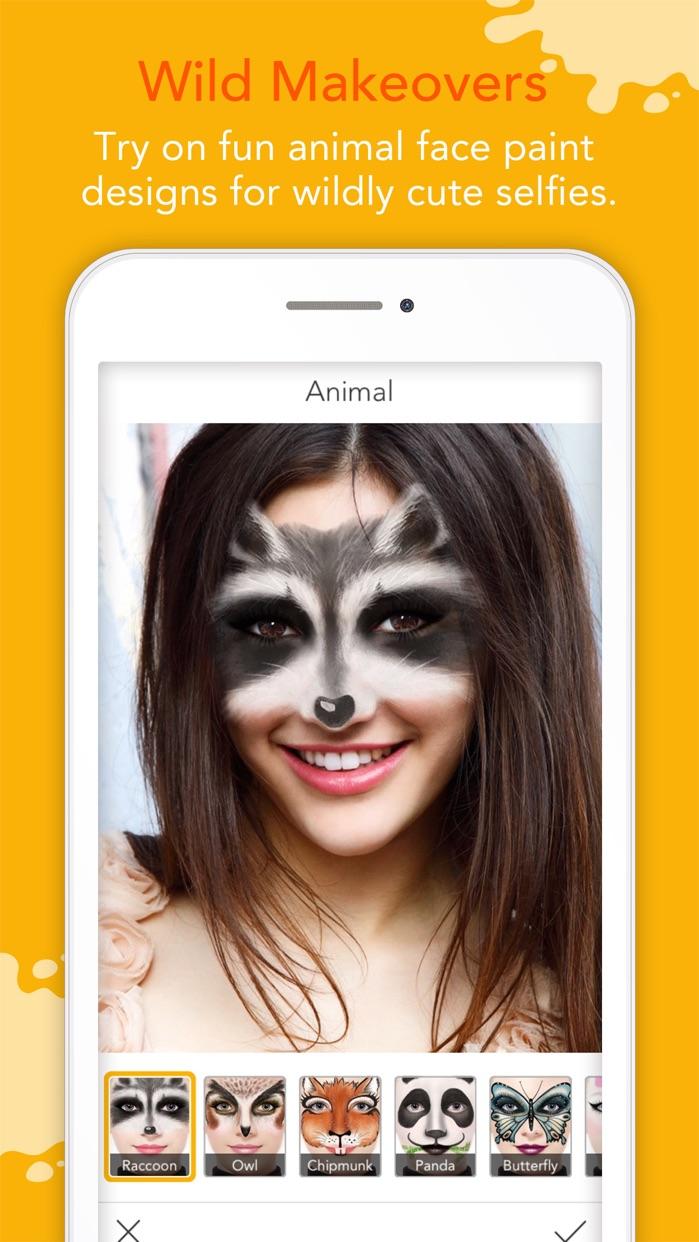 YouCam Fun - Live Face Filters Screenshot