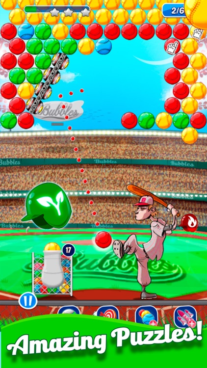 Baseball Bubble Shooter screenshot-5