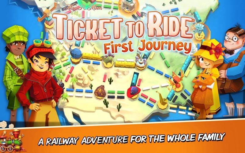 Ticket to Ride: First Journey screenshot 1