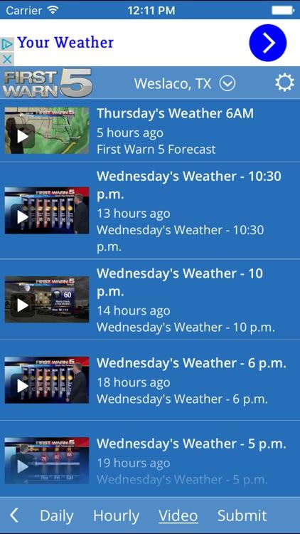 KRGV FIRST WARN 5 Weather