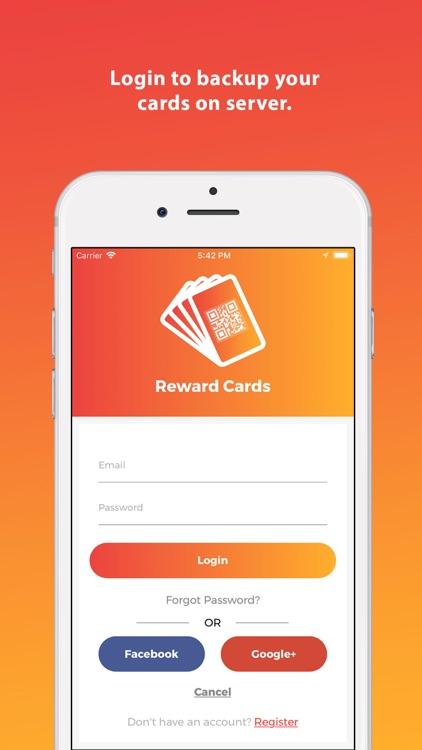 Reward Cards : The Card Wallet screenshot-4