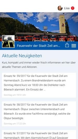 Feuerwehr Der Stadt Zell Im App Store