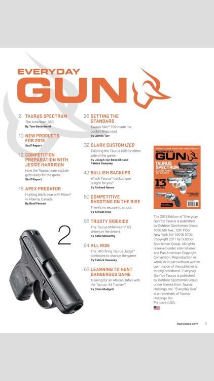 Taurus Magazine