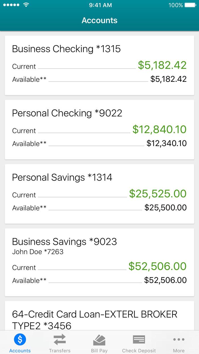 Delta Community Credit Union Screenshot