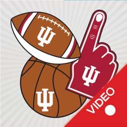 Indiana Hoosiers Animated Selfie Stickers